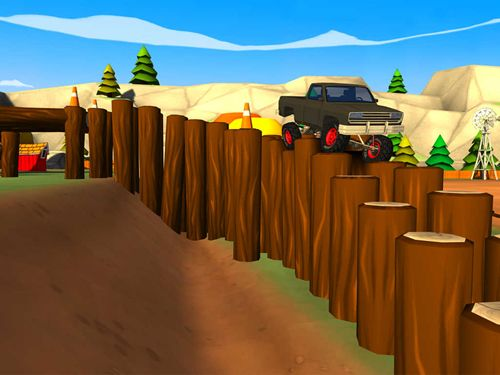 Écrans du jeu Truck trials 2: Farm house 4x4 pour iPhone, iPad ou iPod.