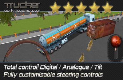 Kostenloser Download von Trucker: Parking Simulator - Realistic 3D Monster Truck and Lorry Driving Test Free Racing für iPhone, iPad und iPod.