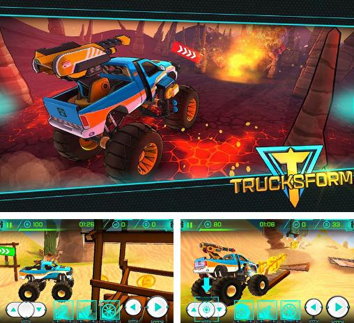 In addition to the game Subway surfers: Kenya for iPhone, iPad or iPod, you can also download Trucksform for free.