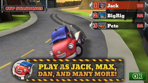 Download Trucktown: Grand prix iPhone free game.