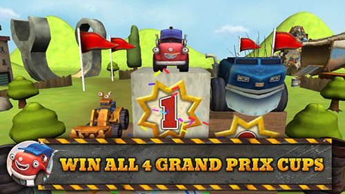 Free Trucktown: Grand prix download for iPhone, iPad and iPod.