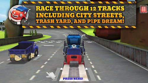 Screenshots of the Trucktown: Grand prix game for iPhone, iPad or iPod.