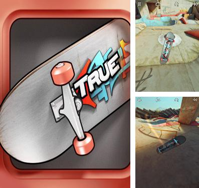 In addition to the game Pac-Man: Championship edition for iPhone, iPad or iPod, you can also download True Skate for free.