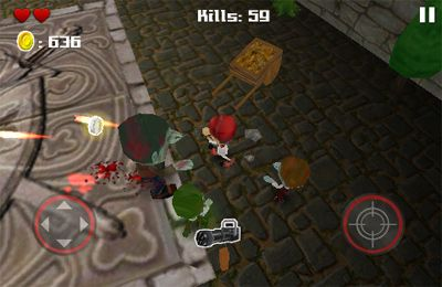 Descarga gratuita de Tsolias Vs Zombies 3D para iPhone, iPad y iPod.