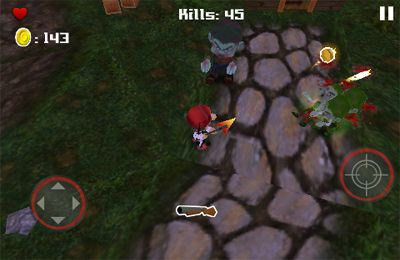 Capturas de pantalla del juego Tsolias Vs Zombies 3D para iPhone, iPad o iPod.