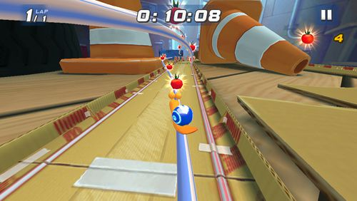 Screenshots of the Turbo: Fast game for iPhone, iPad or iPod.