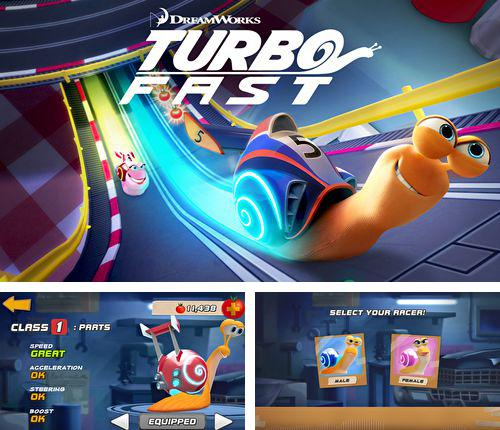 In addition to the game Duck commander: Duck defense for iPhone, iPad or iPod, you can also download Turbo: Fast for free.