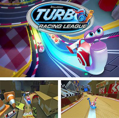 En plus du jeu Simulateur du loup 2 pour iPhone, iPad ou iPod, vous pouvez aussi télécharger gratuitement La Ligue de Course Turbo: l'Escargot Roulant, Turbo Racing League.