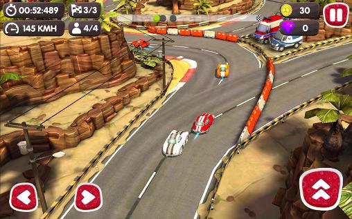 Screenshots vom Spiel Turbo wheels für iPhone, iPad oder iPod.