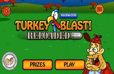 iPhone、iPad または iPod 用Turkey Blast: Reloaded Proゲームのスクリーンショット。