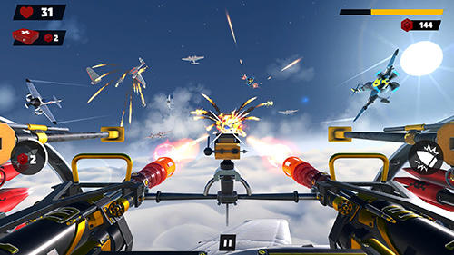 Screenshots of the Turret gunner game for iPhone, iPad or iPod.