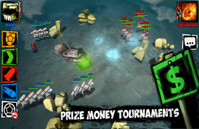 Download TurtleStrike iPhone free game.