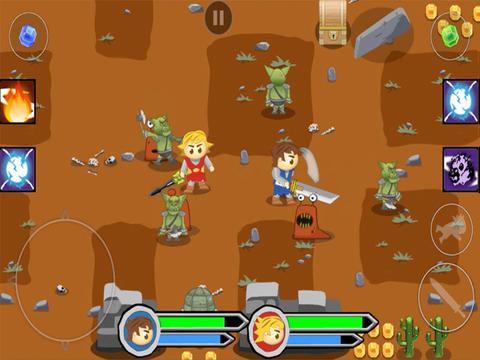 Download Twin Swords iPhone free game.