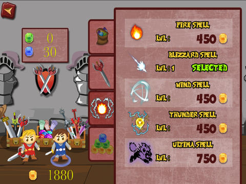 Free Twin Swords download for iPhone, iPad and iPod.