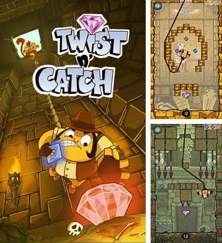 In addition to the game Angry zombies 2 for iPhone, iPad or iPod, you can also download Twist and catch for free.