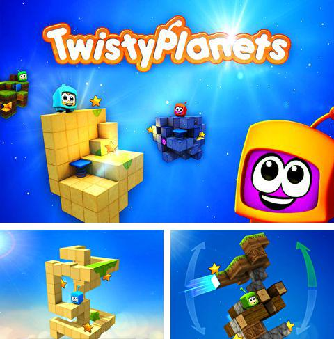 In addition to the game Demong hunter for iPhone, iPad or iPod, you can also download Twisty planets for free.