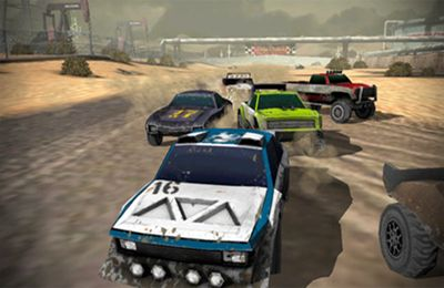 Free Uber Racer 3D – Sandstorm download for iPhone, iPad and iPod.