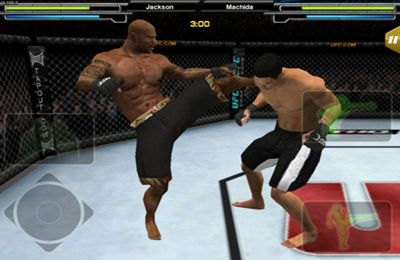 Kostenloses iPhone-Game Ultimate Fighter Meisterschaft 2010 herunterladen.