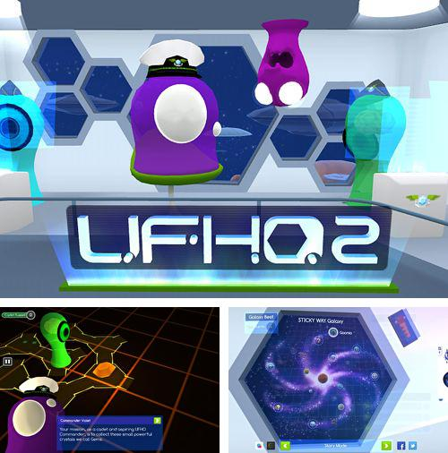 In addition to the game Paper toss: World tour for iPhone, iPad or iPod, you can also download UFHO 2 for free.