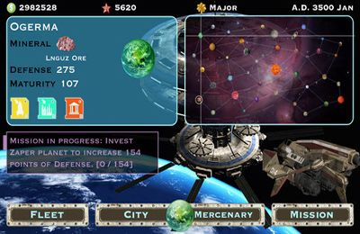 Download Ultimate Fleet iPhone free game.