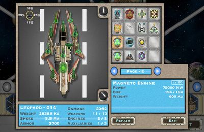 Capturas de pantalla del juego Ultimate Fleet para iPhone, iPad o iPod.