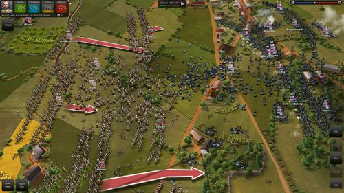 Capturas de pantalla del juego Ultimate general: Gettysburg para iPhone, iPad o iPod.