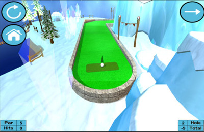 Free Ultimate Mini Golf download for iPhone, iPad and iPod.