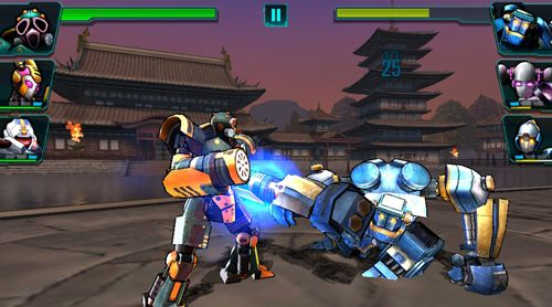 Descarga gratuita de Ultimate robot fighting para iPhone, iPad y iPod.