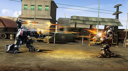 Capturas de pantalla del juego Ultimate robot fighting para iPhone, iPad o iPod.