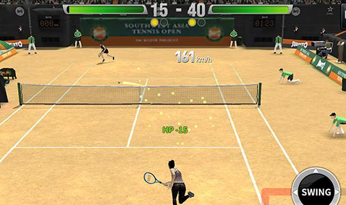 Capturas de pantalla del juego Ultimate tennis para iPhone, iPad o iPod.