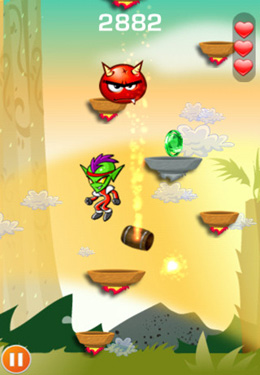 Screenshots of the Ultra Jump game for iPhone, iPad or iPod.