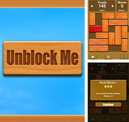 In addition to the game Where's my water? Featuring Xyy for iPhone, iPad or iPod, you can also download Unblock Me for free.