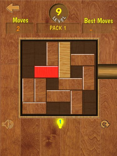 Screenshots of the Unblock me pro game for iPhone, iPad or iPod.