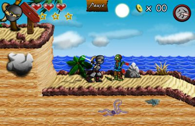 Capturas de pantalla del juego Undead Island para iPhone, iPad o iPod.