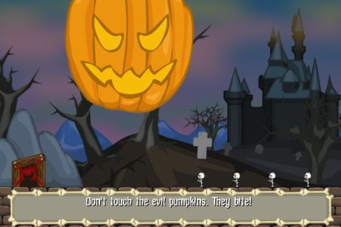 Capturas de pantalla del juego Undead on halloween para iPhone, iPad o iPod.