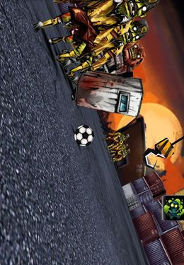 Screenshots of the Undead Soccer game for iPhone, iPad or iPod.