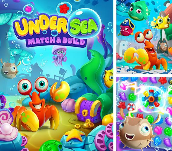 除了 iPhone、iPad 或 iPod 游戏,您还可以免费下载Undersea match and build, 。