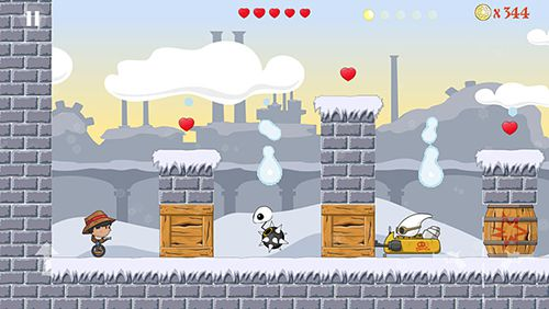 Screenshots do jogo Unicycle boy para iPhone, iPad ou iPod.
