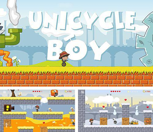 In addition to the game Taichi panda 3: Dragon hunter for iPhone, iPad or iPod, you can also download Unicycle boy for free.