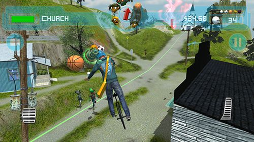 Скриншот игры Unicycle Delivery Service: UDS на Айфон.