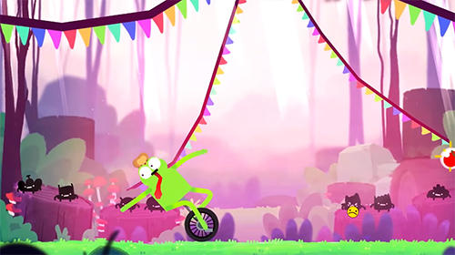 Capturas de pantalla del juego Unicycle giraffe para iPhone, iPad o iPod.