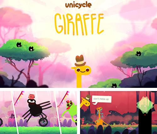 Download Unicycle giraffe iPhone free game.