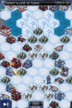 Screenshots of the UniWar game for iPhone, iPad or iPod.