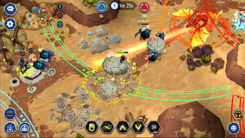 Descarga gratuita de Unnyworld: Battle royale para iPhone, iPad y iPod.