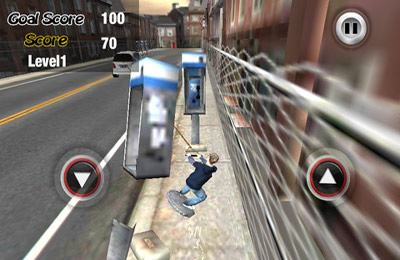 Descarga gratuita del juego El patinador urbano 3D Plus  para iPhone.