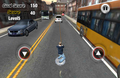 Capturas de pantalla del juego Urban Wakeboarding 3D Plus para iPhone, iPad o iPod.