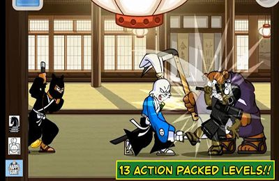 Écrans du jeu Usagi Yojimbo: Way of the Ronin pour iPhone, iPad ou iPod.