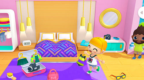 Screenshots of the Vacation hotel stories game for iPhone, iPad or iPod.