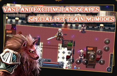 Screenshots of the Vampire Fight game for iPhone, iPad or iPod.