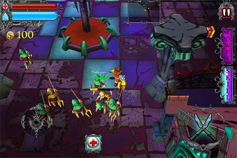 Capturas de pantalla del juego Vampire rush para iPhone, iPad o iPod.